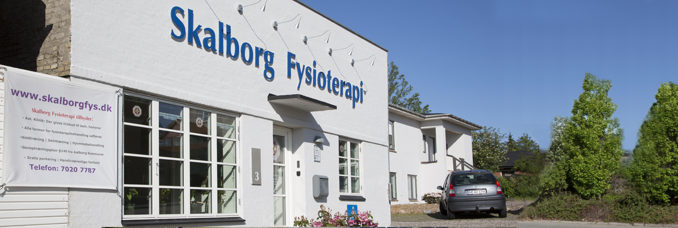 Moderne fysioterapi ved Skalborg fysioterapi